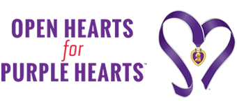 Open Hearts for Purple Hearts